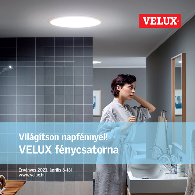 Velux Fénycsatorna prospektus 2021